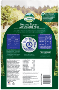 Buy oxbow organic bounty rabbit food at Canadian Pet Connection