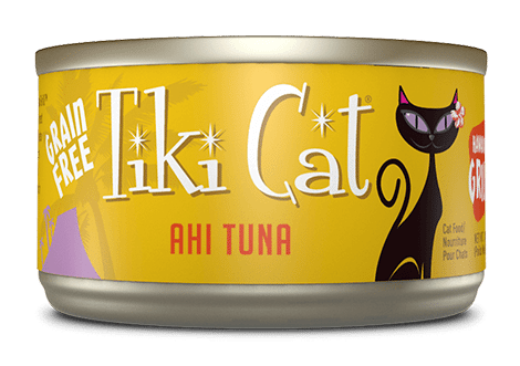 Tiki Cat Grill Canned Cat Food – Hawaiian – Ahi Tuna