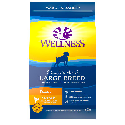 Buy Wellness Complete Health Large Breed Puppy Dog Food