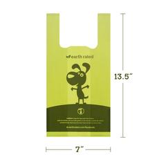 Buy arth Rated Extra Large Lavender Scented Dog Poop Bags with Handle online in Canada from Canadian Pet Connection
