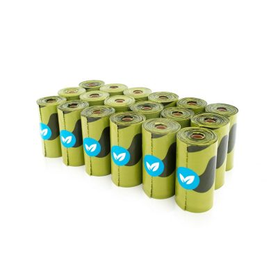 EARTH RATED Biodegradable Poop Bags 30 Single Roll Refills - Unscented