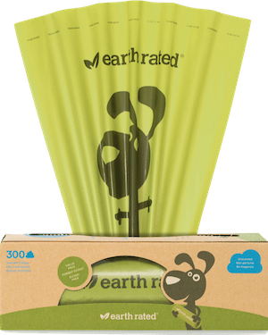 Earth Rated 300 Count Dog Poop Bags - Unscented