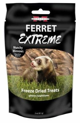 Marshall Ferret Extreme Crunchy Minnow Treats