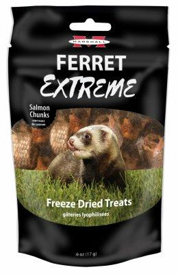 Marshall Ferret Extreme Salmon Chunks Treats