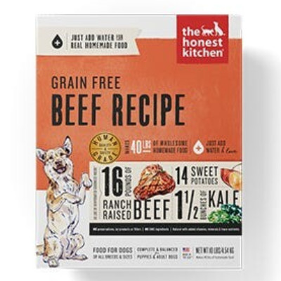 Buy The Honest Kitchen Grain Free Beef Dog Food