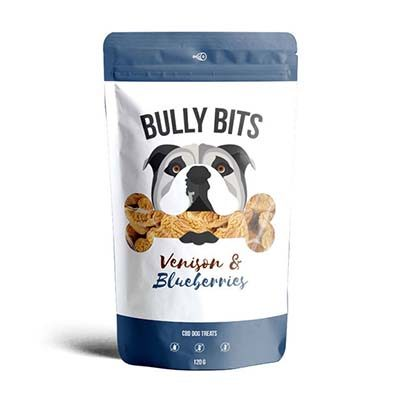 Buy Miss Envy Bully Bites CBD Infused Venison and Blueberry Dog Treats online in Canada