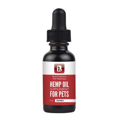 Buy Brad Pattison CBD Hemp Oil online at Canadian Pet Connection