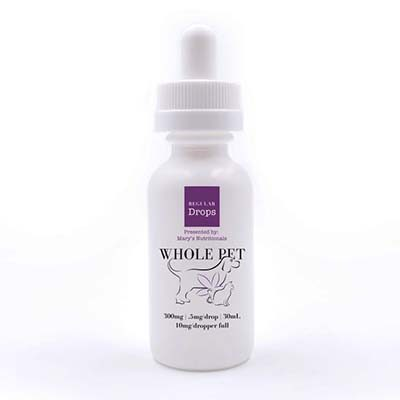 Buy Mary's Whole Pet CBD Drops for Pets online at Canadian Pet Connection
