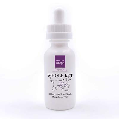 Mary's Whole Pet Hemp Extract Drops for Pets