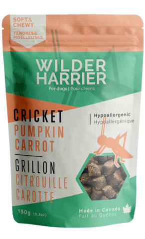 Buy Wild Harrier Cricket Training Treats with Pumpkin and Carrot at Canadian Pet Connection