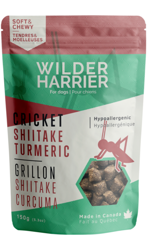 Buy Wild Harrier Cricket Training Treats Shiitake Turmeric online in Canada from Canadian Pet Connection