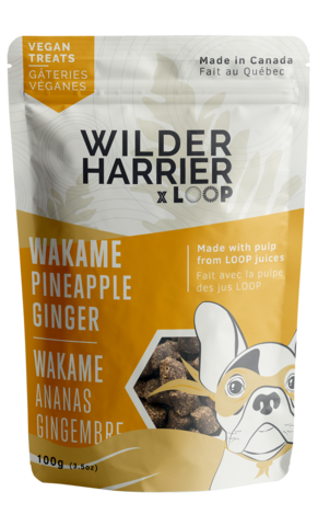 Buy Wild Harrier Pineapple and Ginger Vegan Treats online in Canada from Canadian Pet Connection