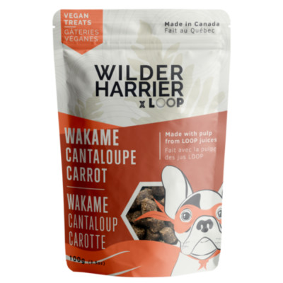 Wilder Harrier Vegan Seaweed Dog Treats With Cantaloupe And Carrot Canadian Pet Connection The cantaloupe's orange flesh isn't toxic to dogs, but some dogs might get how much cantaloupe can dogs eat? wilder harrier vegan seaweed dog treats with cantaloupe and carrot