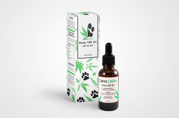 CannaCanine Hemp Oil Supplement for Pets