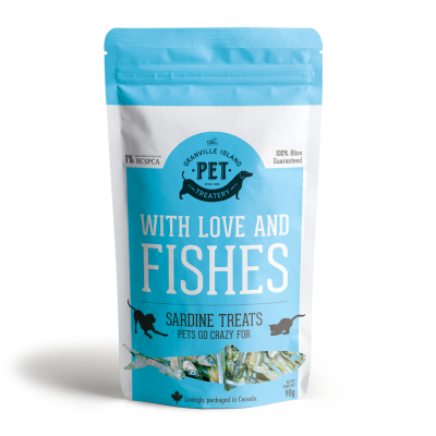 Buy Granville Island Treatery With Love and Fishes Dog and Cat Treats online in Canada