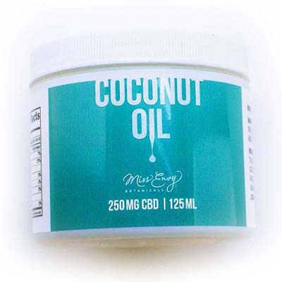 Buy Miss Envy CBD Infused Coconut Oil online in Canada