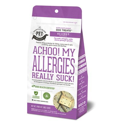 BUy Granville Island Treatery Allergy Supplement Dog Treats online from our warehouse in Canada