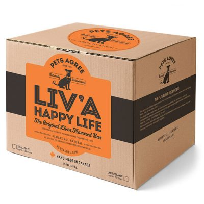 Buy Pets Agree LIV'A Happy Life Liver Dog Treats online in Canada