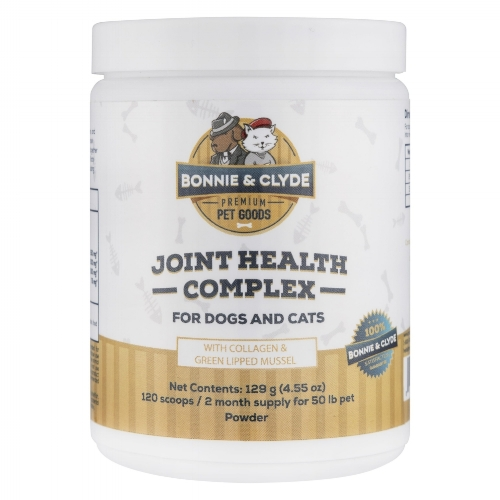 Bonnie & Clyde Joint Health Complex Joint Supplement for Dogs and Cats