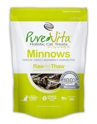 Buy Pure Vita Freeze Dried Minnows online in Canada from Canadian Pet Connection