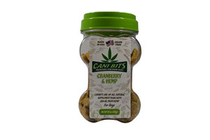 Buy Cani Bits Cranberry Hemp Oil Dog Treats online in Canada from Canadian Pet Connection