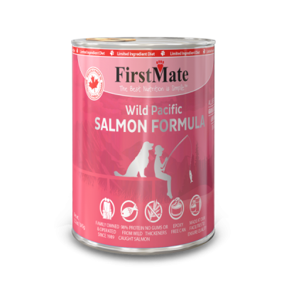 Buy FirstMate Grain Free Salmon Canned Dog Food online in Canada from Canadian Pet Connection