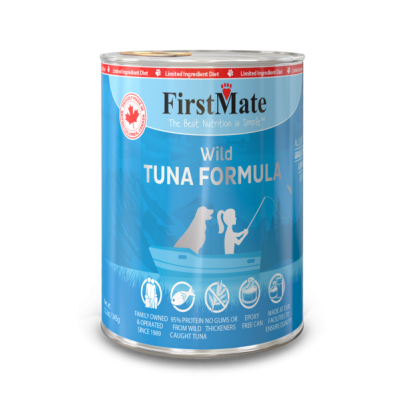 Buy FirstMate Grain Free Wild Tuna Canned Dog Food online in Canada from Canadian Pet Connection
