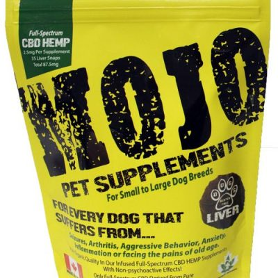 Buy Mojo Pet Supplements Hemp Oil Liver Treats online in Canada from Canadian Pet Connection