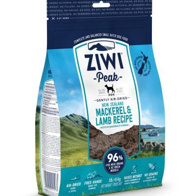 Buy ziwi peak lamb and mackerel air dried dog food online in Canada from Canadian Pet Connection