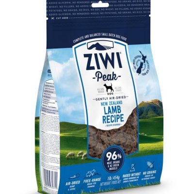 Buy ziwi peak lamb air dried dog food online in canada from canadian pet connection