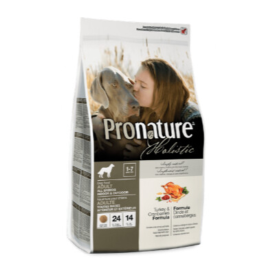 buy Pronature-Holistic-Turkey-and-Cranberry-Adult-Dog-Food