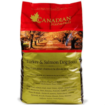 Turkey and Salmon dog food by Canadian Naturals