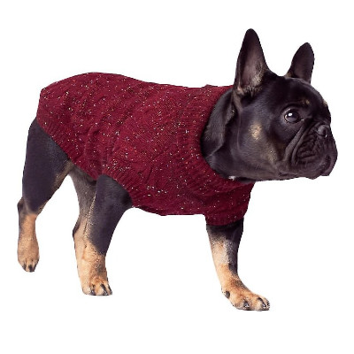 Buy Canada Pooch Cableknit Dog Sweater