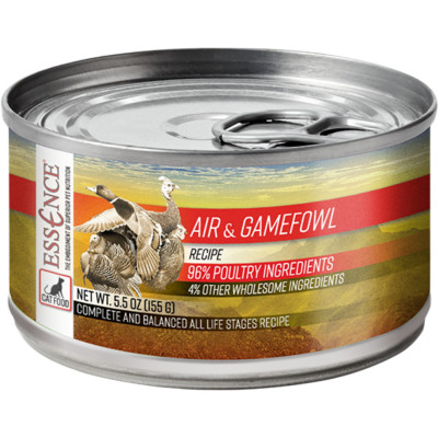essence air and gamefowl canned wet cat food canada