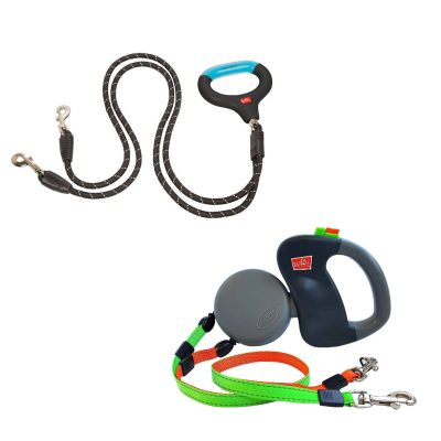 Wigzi Dual Dog Gel Grip Leash