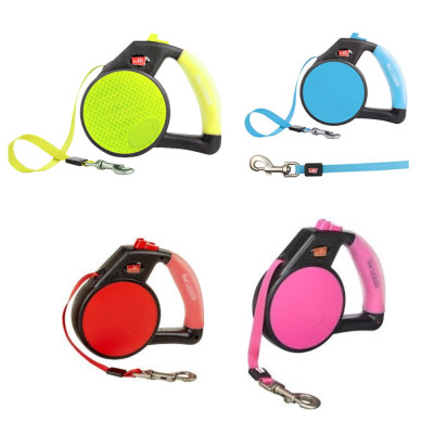 Wigzi Retractable Dog Leash All Colours