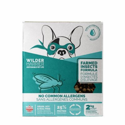 Wilder Harrier Farmed Insect Formula Dog Food online in canada canadian pet connection