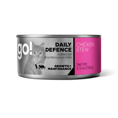 buy GO-Daily-Defence-Chicken-Stew-Canned-Cat-Food