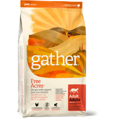 gather free range chicken cat food canada