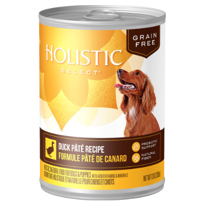 Buy Holistic Select Duck Canned Dog Food