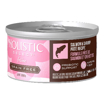 buy Holistic Select Salmon and Shrimp 3oz Canned Cat Food