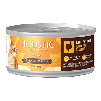 buy Holistic Select Turkey Canned Cat Food