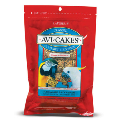 buy Lafebers Classic Avi-Cakes For Macaws And Cockatoos