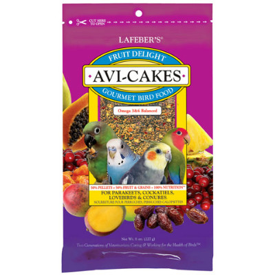 buy Lafebers Classic Avi-Cakes For Small Birds