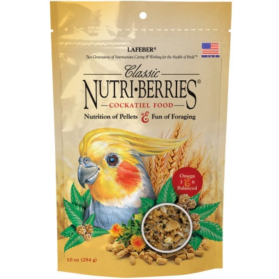 buy Lafebers Classic Nutri-Berries For Cockatiels