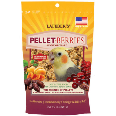 buy Lafebers Classic Pellet Berries For Cockatiels