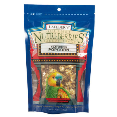 buy Lafebers Gourmet Popcorn Nutri-Berries For Parrots