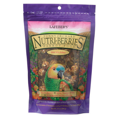 buy Lafebers Gourmet Sunny Orchard Nutri-Berries For Parrots