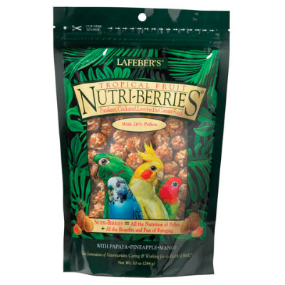 buy Lafebers Gourmet Tropical Fruit Nutri-Berries For Cockatiels