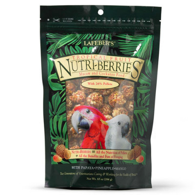 buy Lafebers Gourmet Tropical Fruit Nutri-Berries For Macaws
